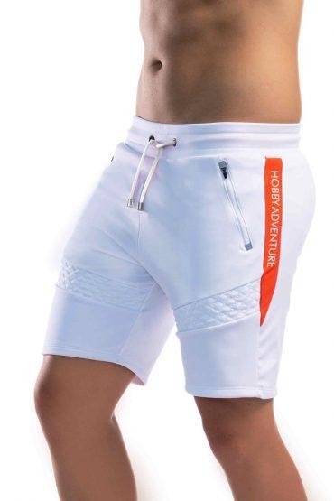 Pantaloneta 8007 Blanca Gimnastic Hobby